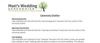 wedding ceremony script non religious ceremony material matt s wedding ceremonies