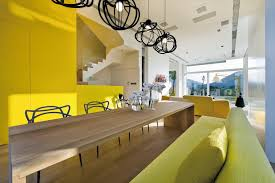 Benjamin Moore Sundance Yellow by 10 Walls Painted In Tasteful Yellows Interiors By Color