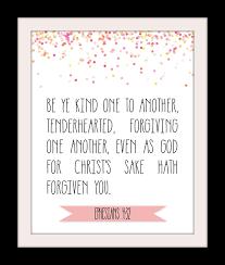 free kjv bible verse printable ephesians 4 32