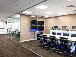frameless glass wall hufcor big tall movable partitions are