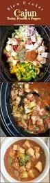 cajun thanksgiving slow cooker cajun turkey potatoes u0026 peppers fit slowcooker queen