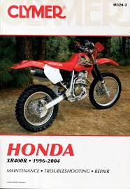 clymer honda xr400r 1996 2004 service repair manual m320 2