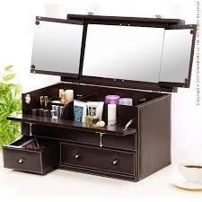 Box Makeup thing rakuten global market leather like makeup box bijou