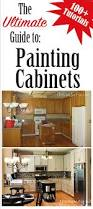 Diy How To Paint Kitchen Cabinets The Ultimate Guide To Painting Cabinets Tutorials The Kim Six Fix