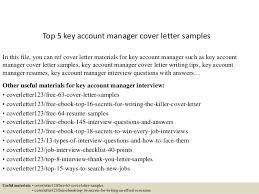brilliant ideas of key account manager cover letter examples about