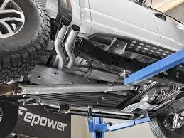 Ford Raptor Exhaust - 2017 raptor 3 5l ecoboost afe rebel series 3