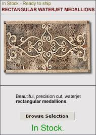 rectangular floor inlays medallionsplus com floor
