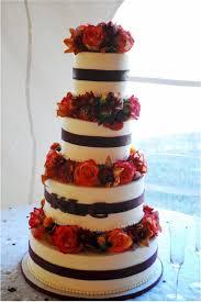 wedding cakes autumn square wedding cakes the autumn wedding