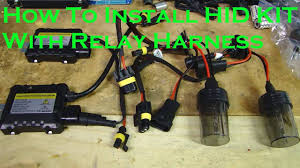 opt7 hid relay harness anti flicker power wiring for opt7 xenon