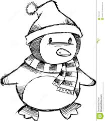 christmas penguin coloring pages preschool 7 funnycrafts