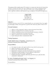 Example Lpn Resume by Example Lvn Resume Lvn Resume Samples Visualcv Resume Samples
