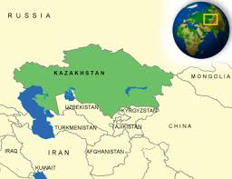 Us Geography Map Kazakhstan Facts Culture Recipes Language Government Eating