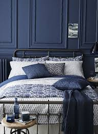 Dark Blue And Black Bedroom Totally Into This Dark Blue Bedroom - Blue bedroom ideas for adults