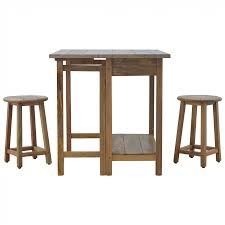 table with 2 stools solid wood breakfast table with 2 stools