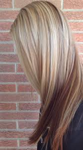 blonde hair with lowlights pictures before naturally dark brown after blonde highlights and pretty
