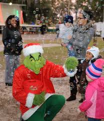 keesler begins holiday season with christmas in the park