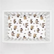 Sheets For Mini Crib Mini Crib Sheets Fitted Porta Crib Sheet Sets Carousel Designs