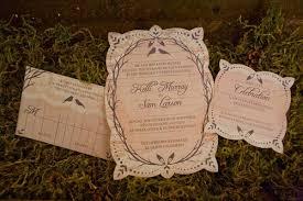 Rustic Vintage Wedding Invitations Kelli Sam Romantic Vintage Inspired Wedding Invitations