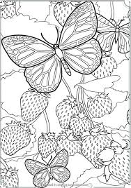 complex butterfly coloring pages free background coloring complex