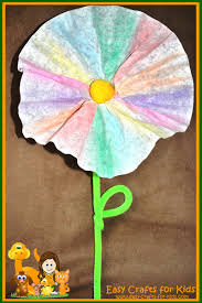 flower crafts for kids welcome spring with home made flowers