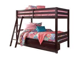 signature design by ashley halanton solid pine twin twin bunk bed