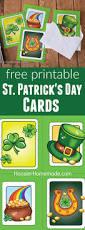 printable st patrick u0027s day cards hoosier homemade