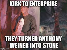 Anthony Meme - star trek the lost episode with anthony weiner imgflip