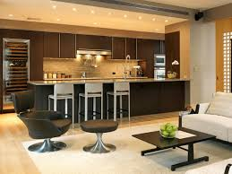 modern kitchen living room open kitchen design with modern touch for futuristic home interior