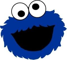 cookie monster face template cookie monster party