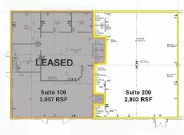 Industrial Floor Plan Industrial Office Space For Lease 2897 Mapleton Avenue Boulder