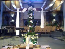 Easter Decorating Ideas Church by 92 Best Church Decorations Images On Pinterest Church Banners