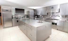 Kitchen Island Stainless Steel by Engaging Stainless Steel Kitchen Cabinets Come With Rectangle