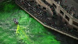how the chicago river is dyed green chicago tribune