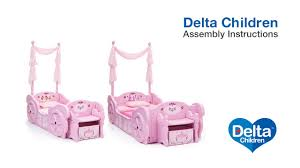 carriage bed for girls delta children disney princess carriage toddler to twin bed