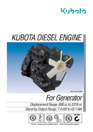 kubota diesel engine kubota engine pdf catalogue technical
