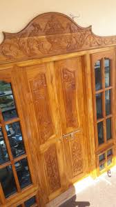 the best quality of entrence wooden door woodden works in