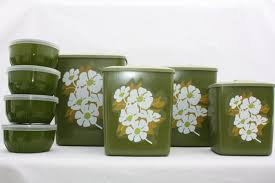 green kitchen canisters cool light green kitchen my home design journey