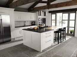 kitchen black quartz countertop kitchen island contemporary
