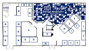 Business Floor Plan Design by 1701 Small Business Saturday Pop Up Marketplace Vendor