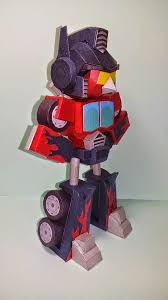 transformer pinata angry birds transformer bird optimus prime papercraft