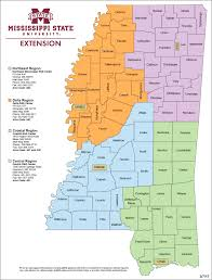 Jackson Ms Map County Extension Offices Mississippi State University Extension