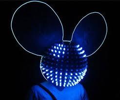 Deadmau5 Head Costume Halloween Led Helmet