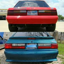 fox body tail lights stock or cobra tail lights