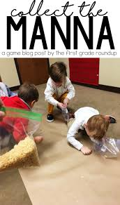 collect the manna game firstgraderoundup