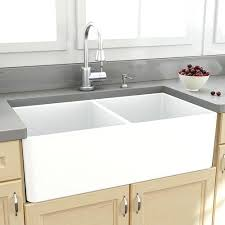 double basin apron front sink double basin farmhouse sink awesome apron kitchen pertaining to 11