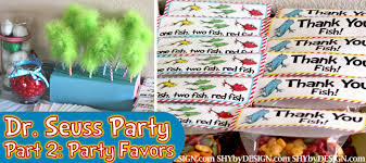 dr seuss party decorations dr seuss party part 2 party favors shybydesign