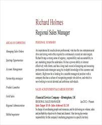 Sample Resume For Regional Sales Manager by 31 Professional Manager Resume