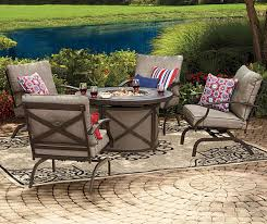 i found a wilson fisher mesa patio furniture collection at big