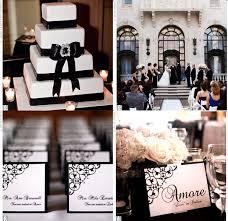 decoration mariage noir et blanc vrai mariage noir et blanc baroque décoration de mariage