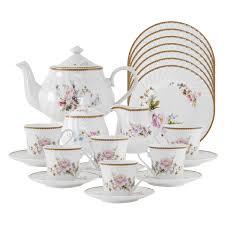 timeless porcelain tea set